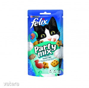 FELIX PARTY MIX Ocean Mix macska jutalomfalat 60g - 395 Ft kép