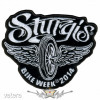 BIKE WEEK 2014 - Sturgis Motorcycle Patch. USA. felvarró