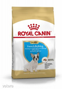 ROYAL CANIN FRENCH BULLDOG JUNIOR - Francia Bulldog kölyök kutya száraz táp 3 kg - 7328 Ft kép