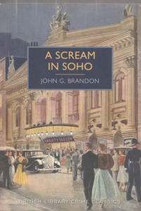 John G. Brandon A Scream in Soho - 2000 Ft kép